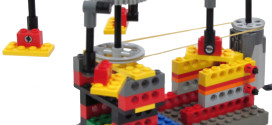 Young engineers enrichment programs LEGO models